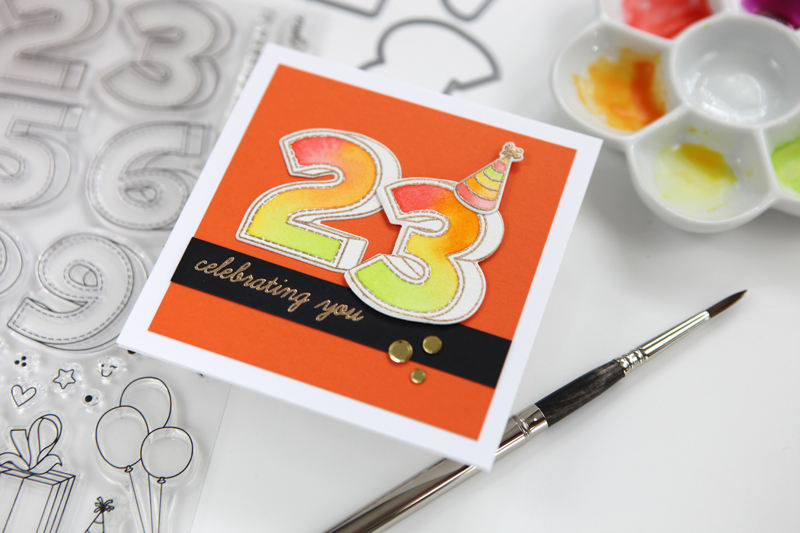 Birthday Numbers (A STAMPtember Kick Off Online Party)