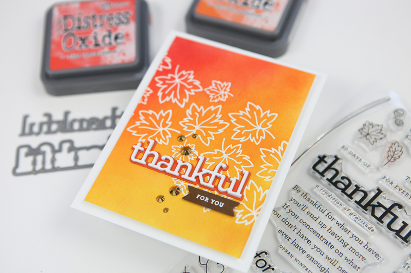 thankful for you card share cz design