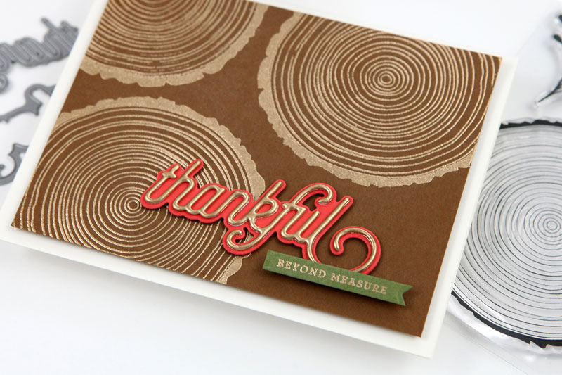 Thankful Beyond Measure Card