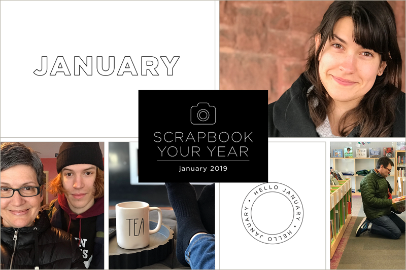 scrapbook your year with cathy zielske