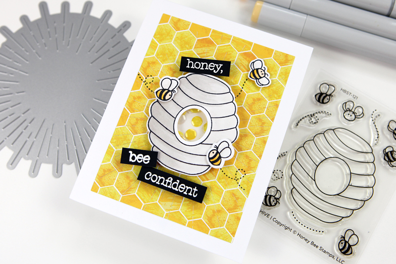 World Bee Day with Honey Bee Stamps!