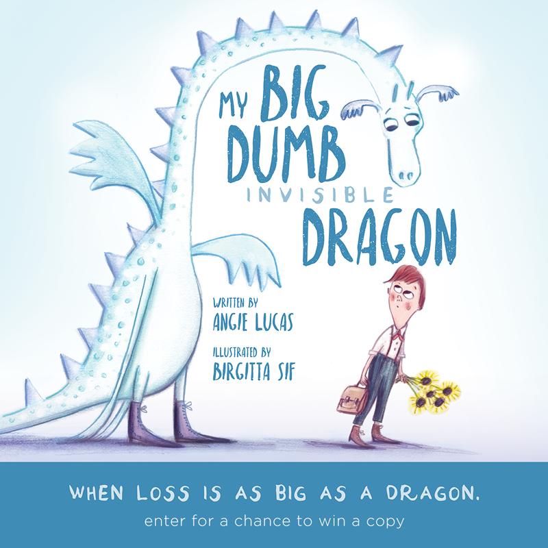 My Big, Dumb Invisible Dragon book giveaway