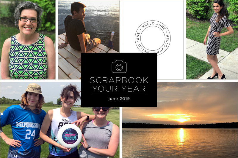 Scrapbook Your Year, Pages for June (plus a 30% off sale!)