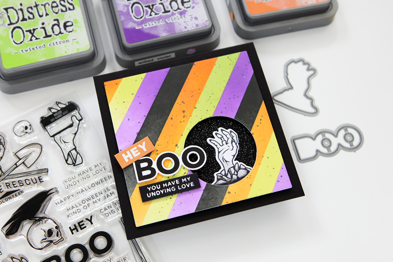 Welcome to STAMPtember®! Let's start it out with some Halloween releases from CZ Design!