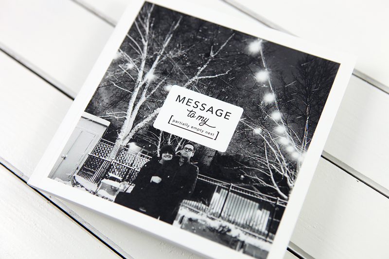 Create a mini album or book of messages (and save 30% on the e-course!)