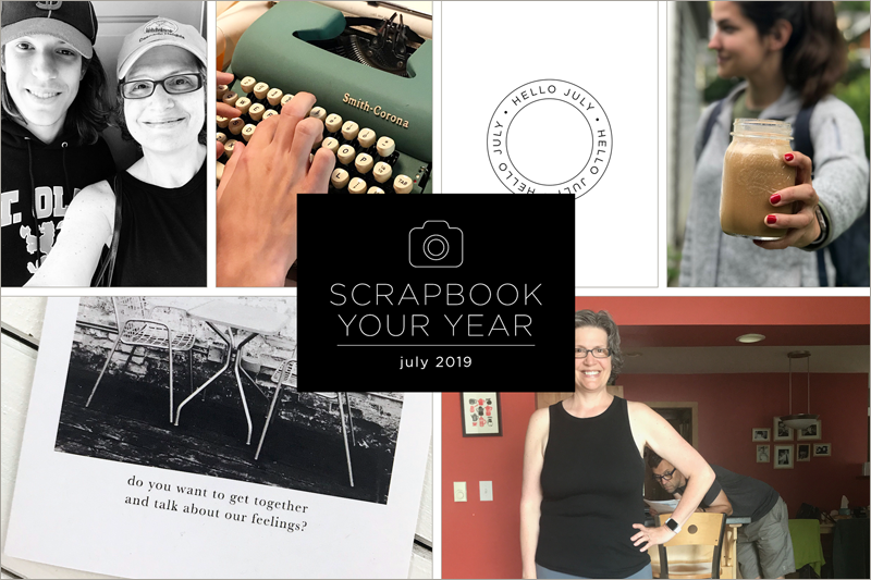 Scrapbook Your Year, Pages for July 2019 (+ save 30% off the course that inspires this project!)