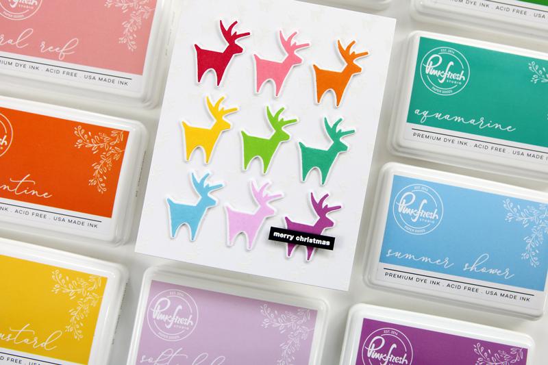 Introducing premium dye inks from Pinkfresh Studio