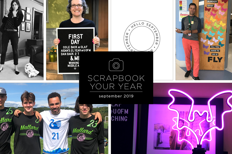 Scrapbook Your Year, Pages for September 2019 (plus save 30% on the e-course behind the project!)