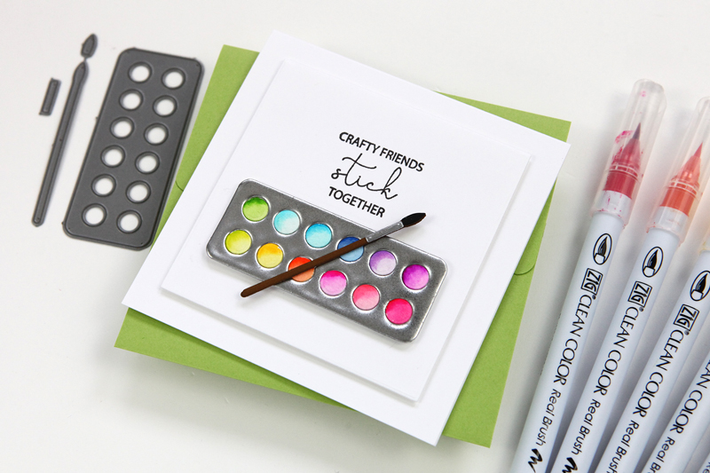 Art Supplies Die Set (A Simon Says Stamp Diecember Exclusive!)