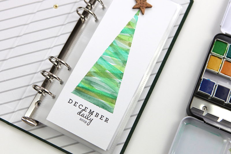 December Daily® Title Page Freebie