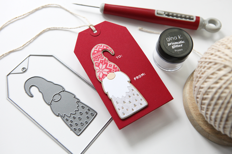 Two easy holiday tag projects