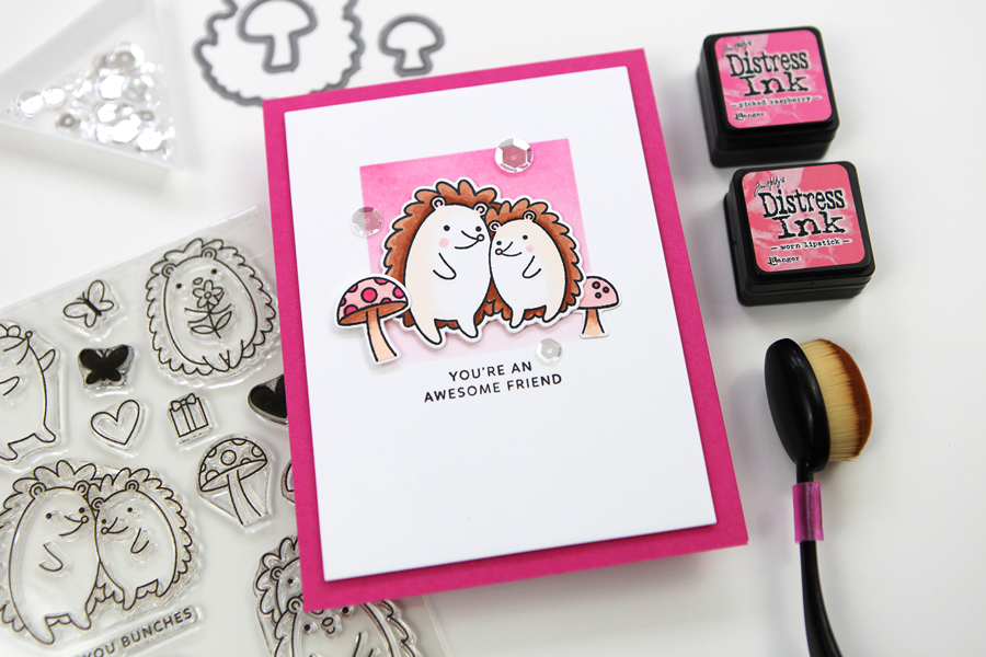 Hedgehog Friends (a new release from Pretty Pink Posh)