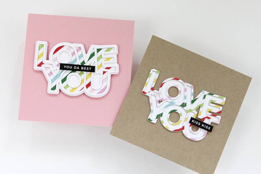 Simple Ideas for Patterned Paper on Cards (and a new release from Simon Says Stamp)