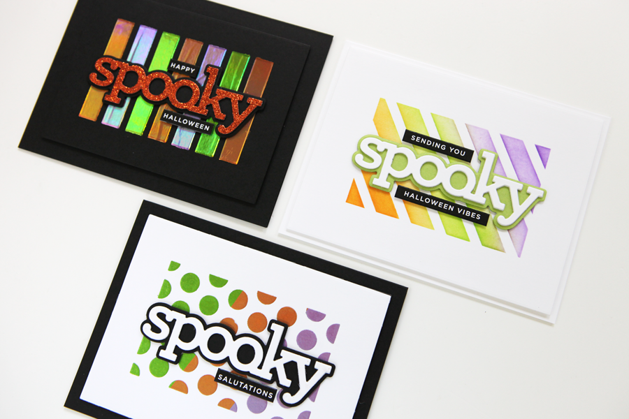 Welcome to STAMPtember®! And let's kick it off with some spooky card projects!