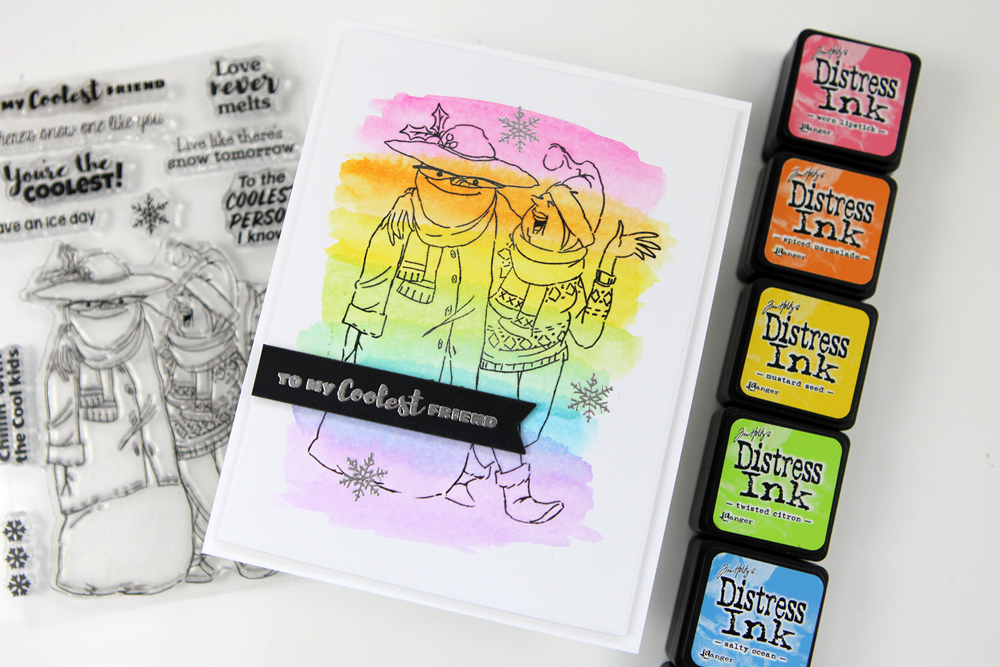 The final STAMPtember® exclusive is here from Art Impressions!