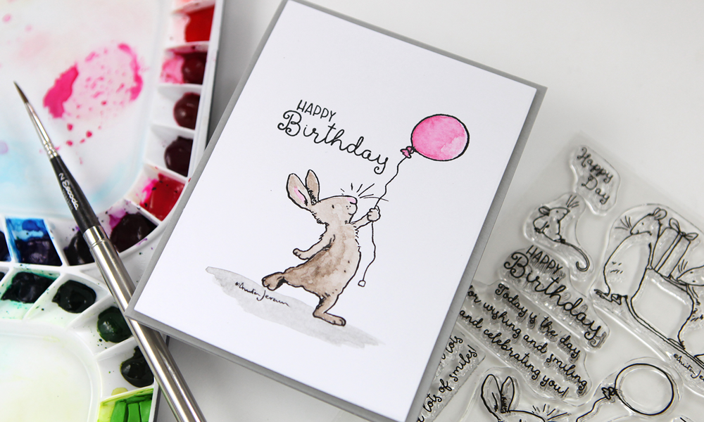 Announcing an amazing new stamp collection from Colorado Craft Company and Illustrator Anita Jeram