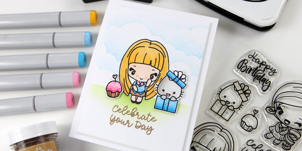 Today's STAMPtember® exclusive is from The Greeting Farm