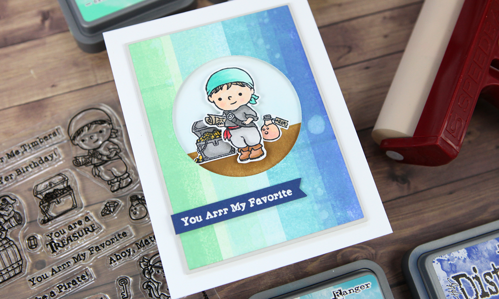 The 2020 Sugar Pea Designs STAMPtember® collaboration is here: arrr, matey!