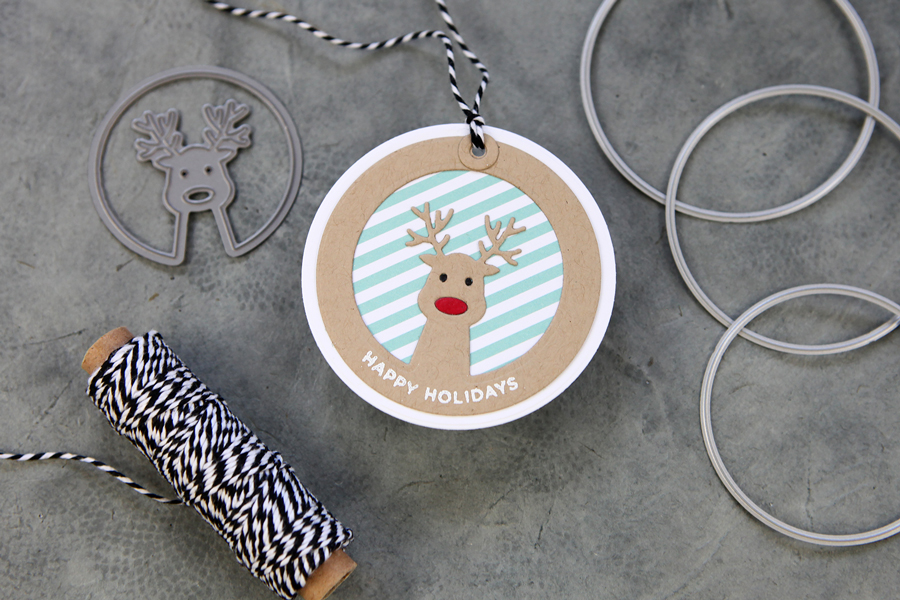 The cutest holiday tag ever (at least I think so!)