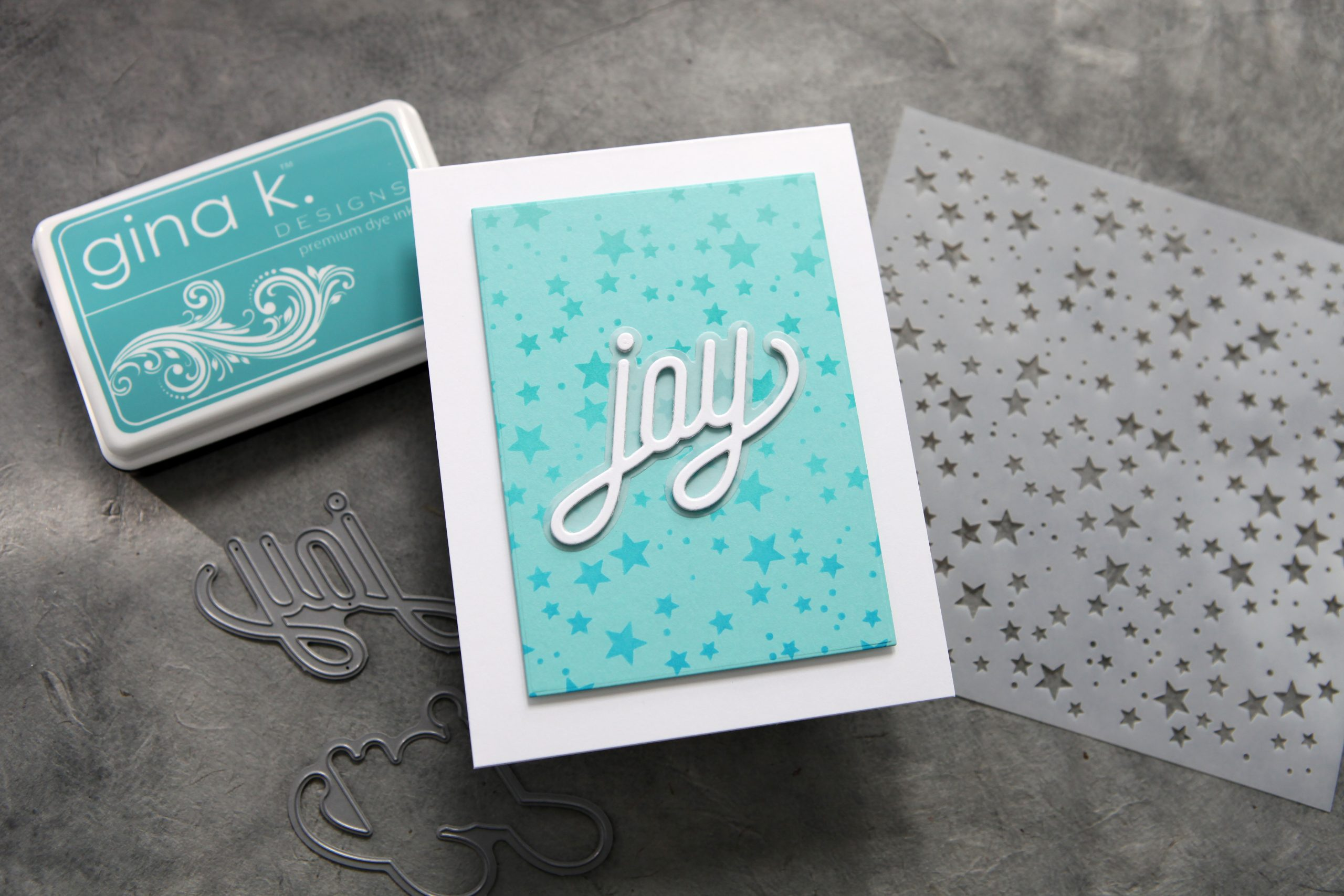 One stencil, three ways (plus a new release from Simon Says Stamp!)