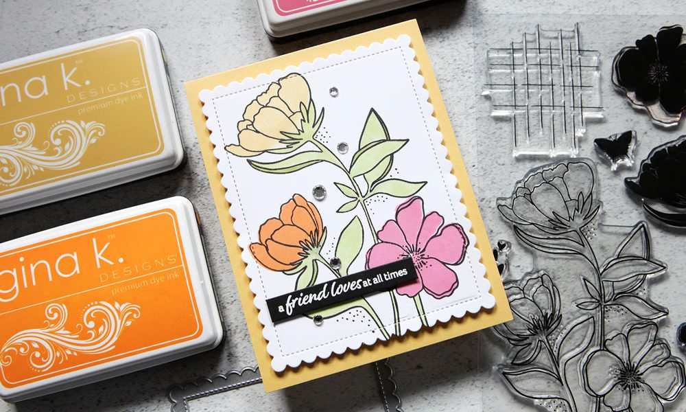 New Stamps, Now What? Let's stamp some florals!