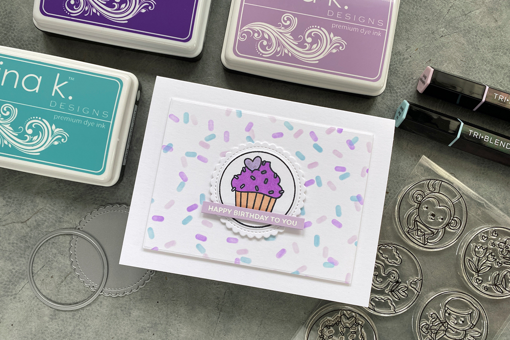 A fun idea for a gift card delivery featuring new products from Pretty Pink Posh