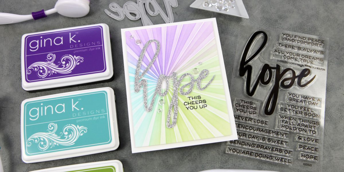More fun with stencils + a Waffle Flower Blog Hop