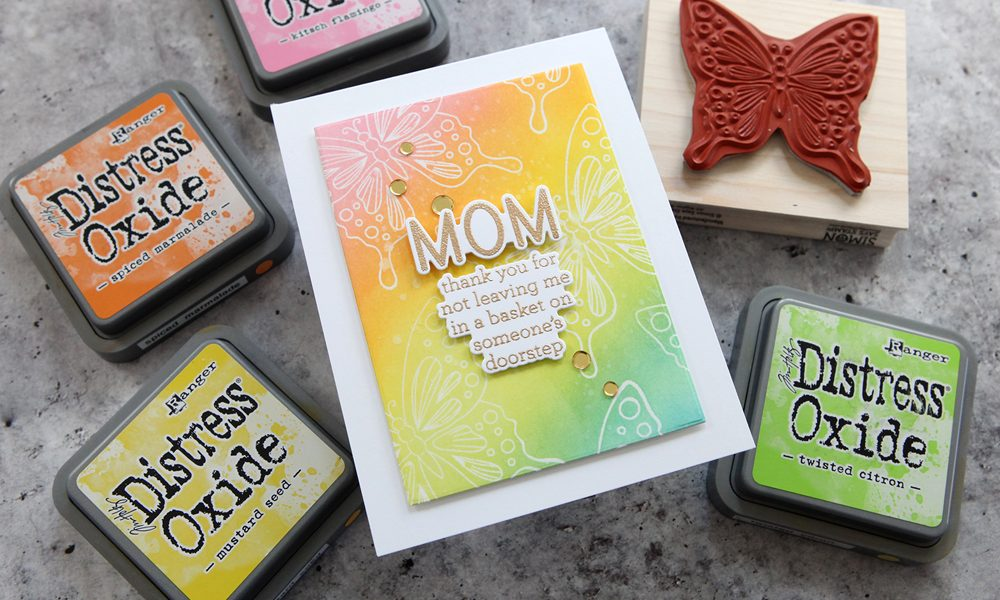 New Stamps, Now What? A fun Mother's Day card project!
