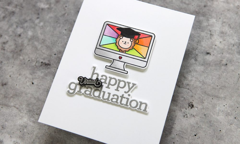 Cards for your virtual grads! (Day 2 of a Simon Says Stamp Blog Hop)