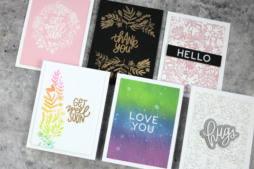 The Garden Greetings Card Kit Unboxing and Card Making Video (7 cards to share!)