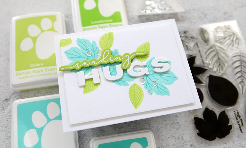 Free-range stamping (and some darling products from Waffle Flower Crafts)