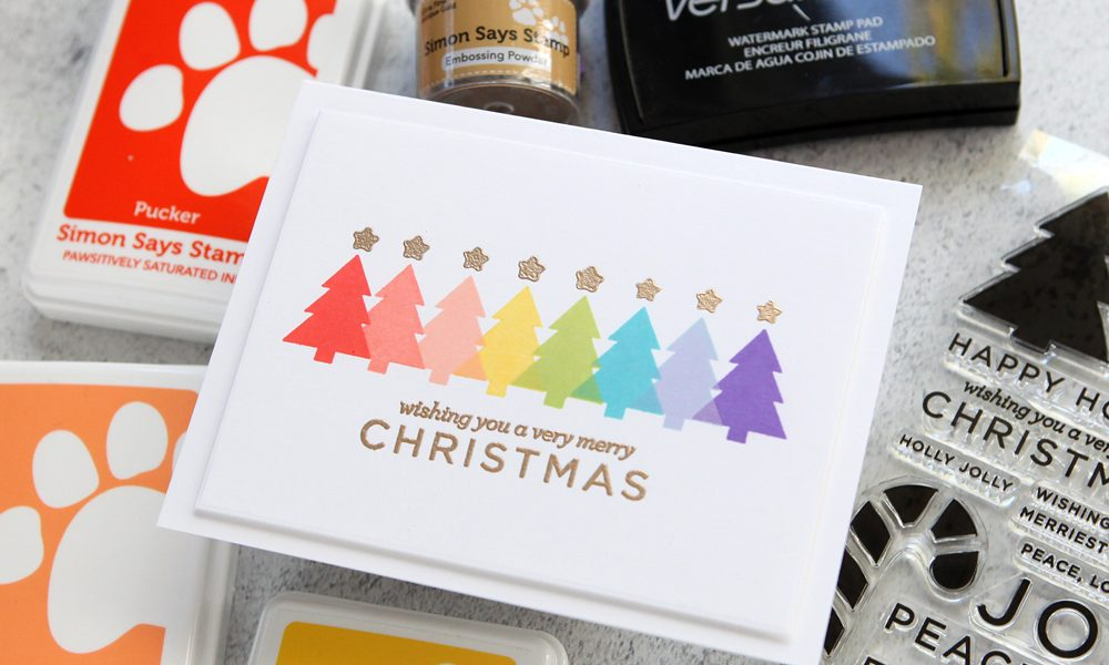 Two fun holiday card ideas (part of a Simon Says Stamp blog hop!)