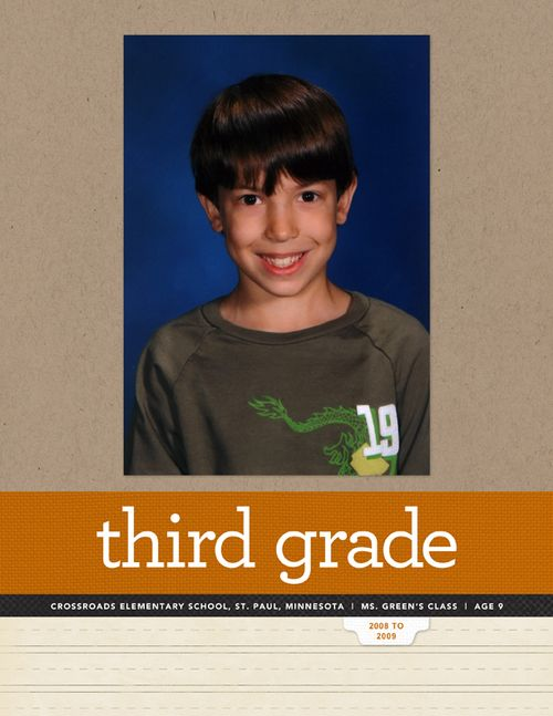 3rdGradeTitlePage